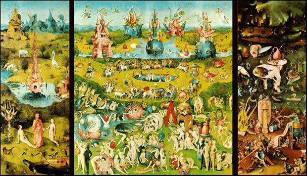 O jardim das delícias, de Hieronymus Bosch