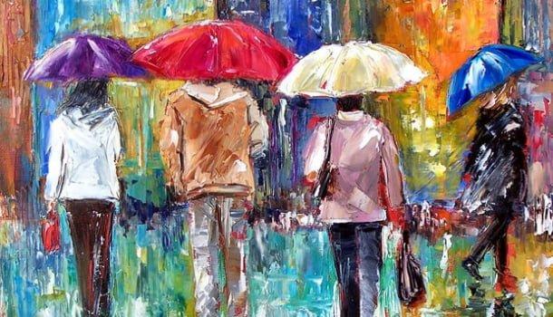 A chuva que varre os velhos ódios e a vida que brota em cada um de nós