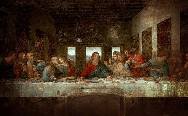 A última ceia, de Leonardo da Vinci