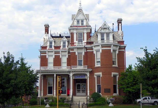 McCoy Memorial Library, McLeansboro, Illinois