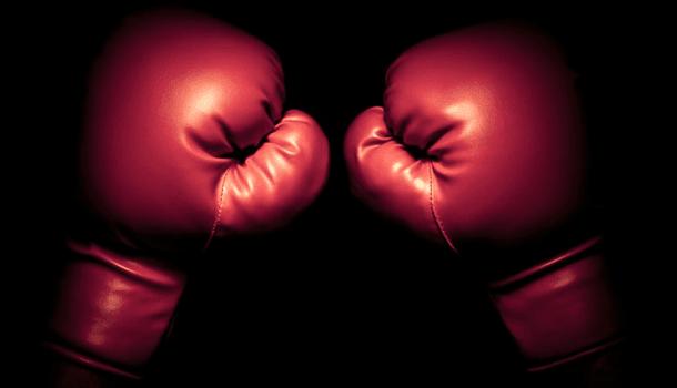 Brigar pra quê? A vida sempre há de nos bater mais forte
