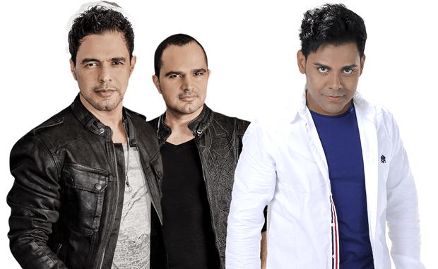 Encontro de gerações na MIB: a dupla breganeja Zezé Di Camargo & Luciano  junto ao cantor Pablo do Arrocha: novos e velhos ícones da sofrência,  a popular música de corno brasileira.