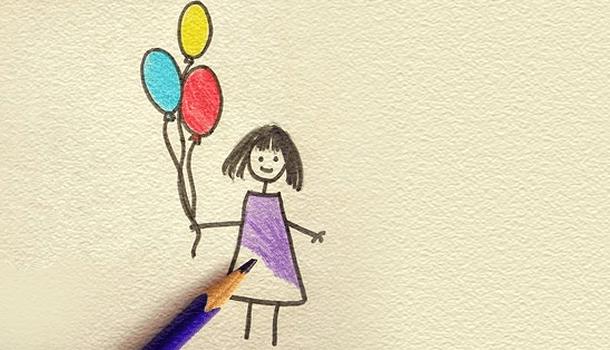 A vida é só um grande livro de colorir. Pinte a sua como quiser!