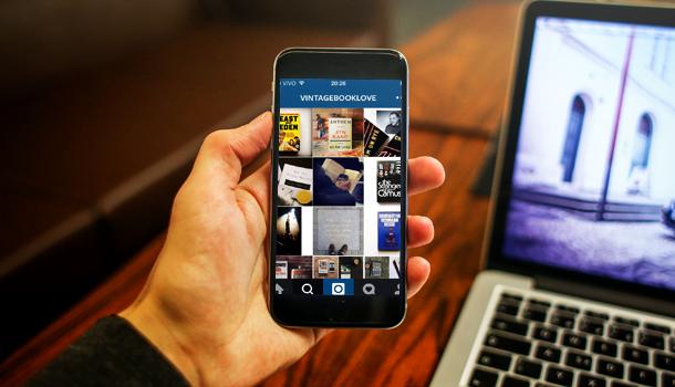 21 perfis do instagram para apaixonados por livros