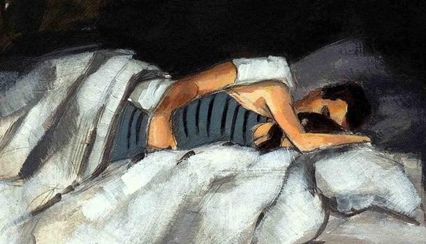 A sublime arte de dormir de conchinha!
