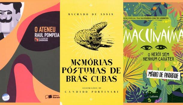 Os 10 romances mais importantes da literatura brasileira