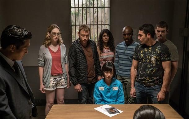 3 — Sense8 (2015), Lilly Wachowski, Lana Wachowski e J. Michael Straczynski