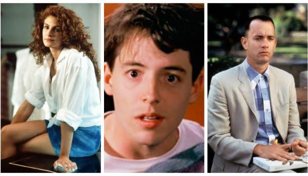 Os 50 filmes mais populares entre 1980 e 1995