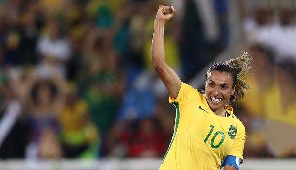 As 10 maiores jogadoras da história do futebol