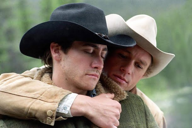 Jake Gyllenhaal e Heath Ledger — O Segredo de Brokeback Mountain (2005)