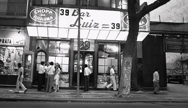 O histórico Bar Luiz,  fundado em 1887