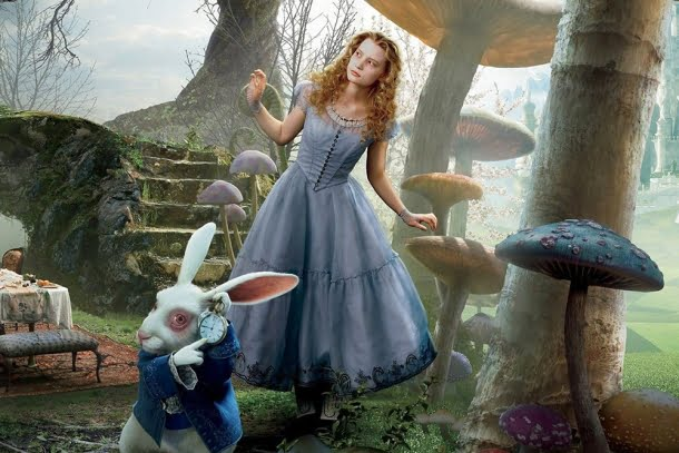 Alice no País das Maravilhas (2010), Tim Burton