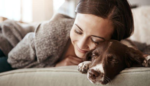 Mulheres dormem melhor ao lado de cães do que ao lado de homens, diz estudo