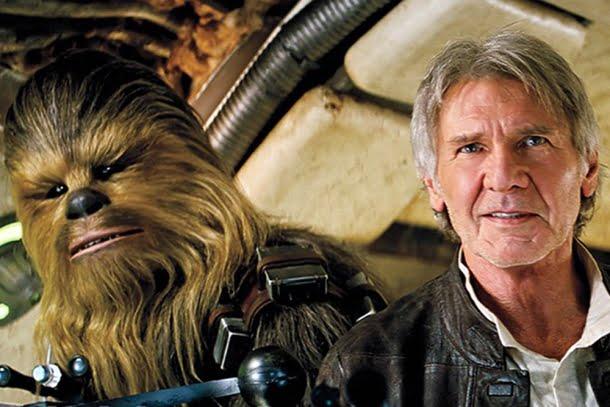 Star Wars Episódio VII: O Despertar da Força (2015, dirigido por J. J. Abrams)