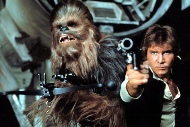 Star Wars Episódio IV: Uma Nova Esperança (1977, dirigido por George Lucas)