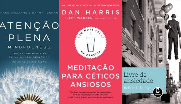 10 livros que ajudam a lidar com o pânico, a ansiedade e a depressão