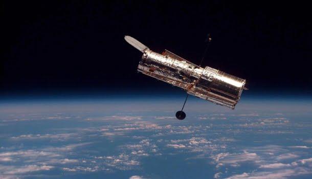 A fotografia capturada pelo telescópio Hubble no dia do seu aniversário