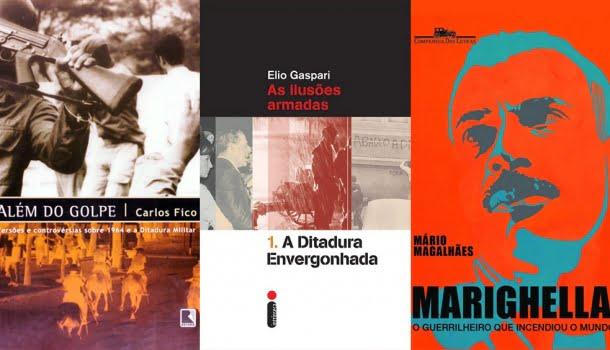 20 dos melhores livros sobre o golpe de 1964 e a ditadura civil-militar