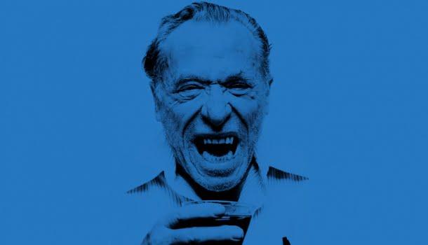 Bukowski: o pássaro azul que habita em mim cumprimenta o pássaro azul que habita em você