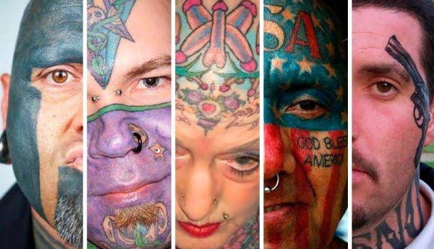 As 20 piores tatuagens faciais da história