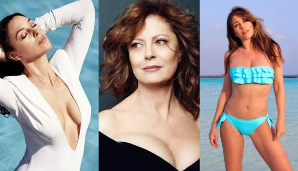 As 12 mulheres famosas (com mais de 50 anos) mais bonitas do mundo