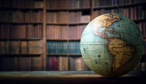 Esboço de um mapa mundi da literatura