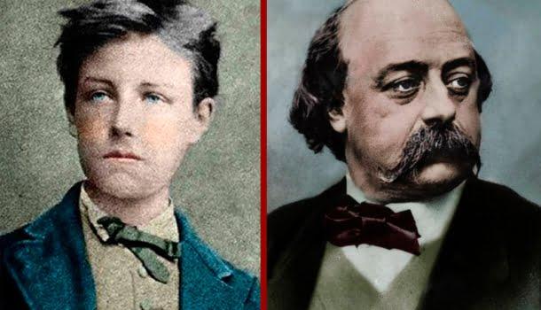 Rimbaud, Flaubert e as revoltas parisienses