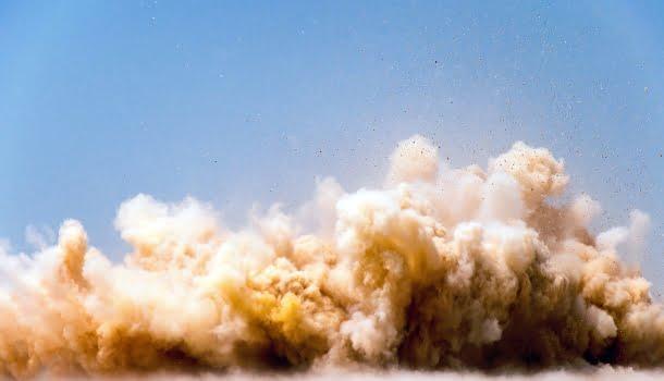 O mundo e o Brasil das nuvens de poeira