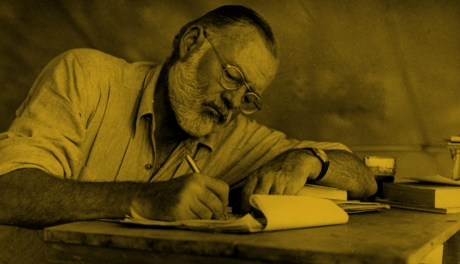 Há exatos 121 anos nascia Ernest Hemingway