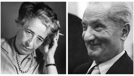 A paixão de Hannah Arendt pelo filósofo nazista Heidegger