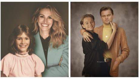 15 fotos que colocam pessoas famosas ao lado de suas versões mais jovens
