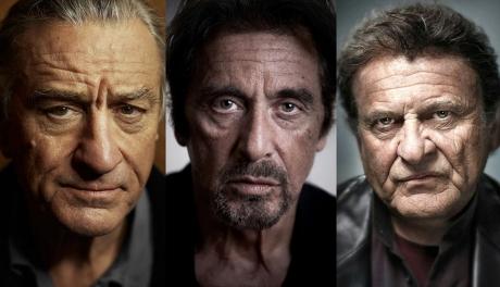 Robert De Niro, Al Pacino e Joe Pesci