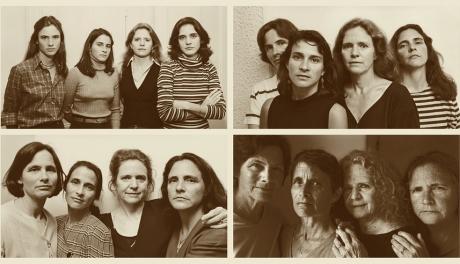 Quatro irmãs repetiram a mesma foto por 43 anos, de 1975 a 2018