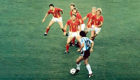 Maradona, meu primeiro vilão no futebol
